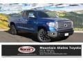 2016 Blazing Blue Pearl Toyota Tundra Limited CrewMax 4x4  photo #1
