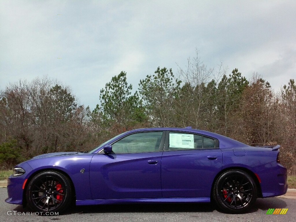 2016 Plum Crazy Pearl Dodge Charger SRT Hellcat #111461805 ...