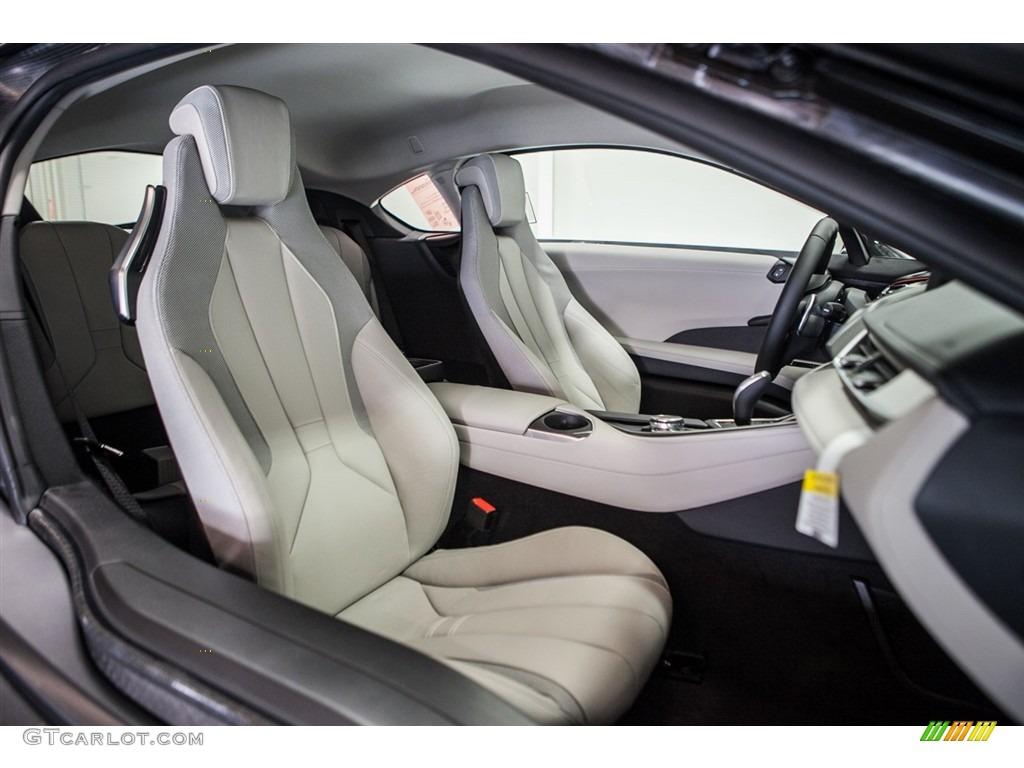 Mega carum spice grey leather w cloth interior 2016 bmw for I 8 interior