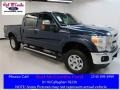 2016 Blue Jeans Metallic Ford F250 Super Duty XLT Crew Cab 4x4 #111461938