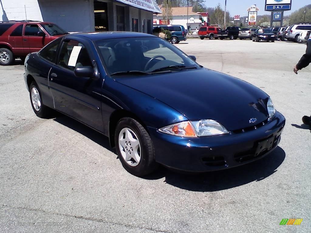 2002 indigo blue metallic chevrolet cavalier coupe 11127177 gtcarlot com car color galleries gtcarlot com