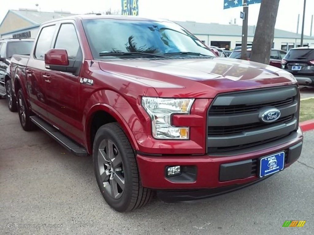 2016 ruby red ford f150 lariat supercrew 111500861 car color galleries. Black Bedroom Furniture Sets. Home Design Ideas