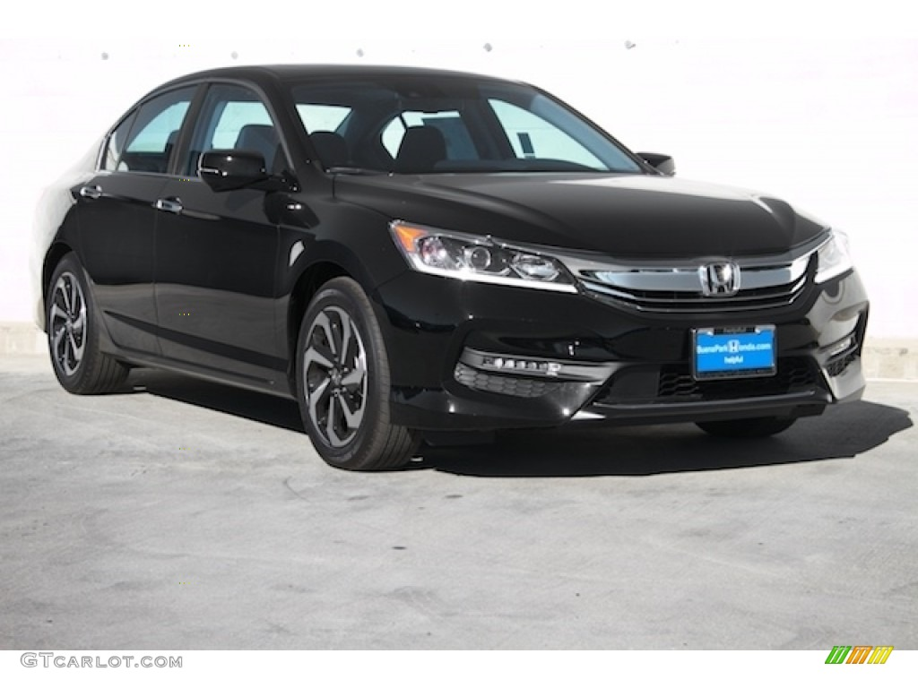 2016 crystal black pearl honda accord ex sedan 111500937. Black Bedroom Furniture Sets. Home Design Ideas