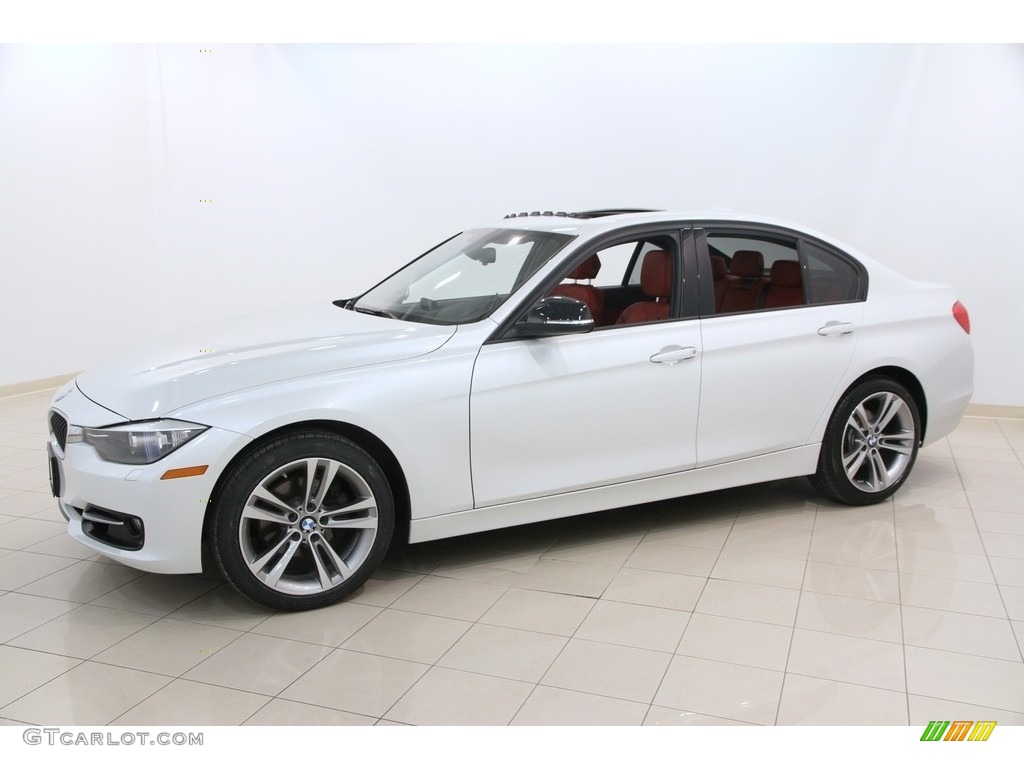 mineral white metallic 2013 bmw 3 series 328i xdrive sedan. Black Bedroom Furniture Sets. Home Design Ideas