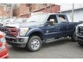 2016 Blue Jeans Metallic Ford F250 Super Duty XLT Crew Cab 4x4 #111523264