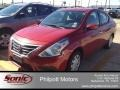 Red Brick 2015 Nissan Versa Gallery