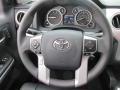 2016 Toyota Tundra Black Interior Steering Wheel Photo