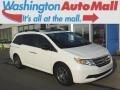 Taffeta White 2013 Honda Odyssey EX-L