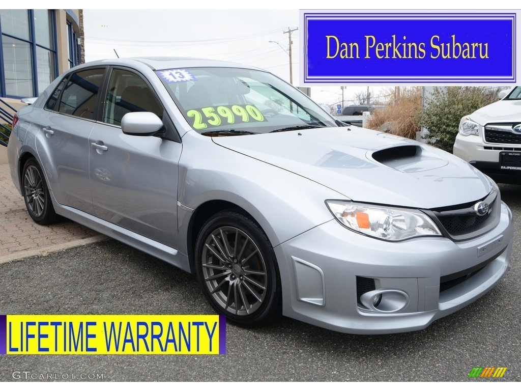 2013 ice silver metallic subaru impreza wrx premium 4 door 111567320 photo 2. Black Bedroom Furniture Sets. Home Design Ideas