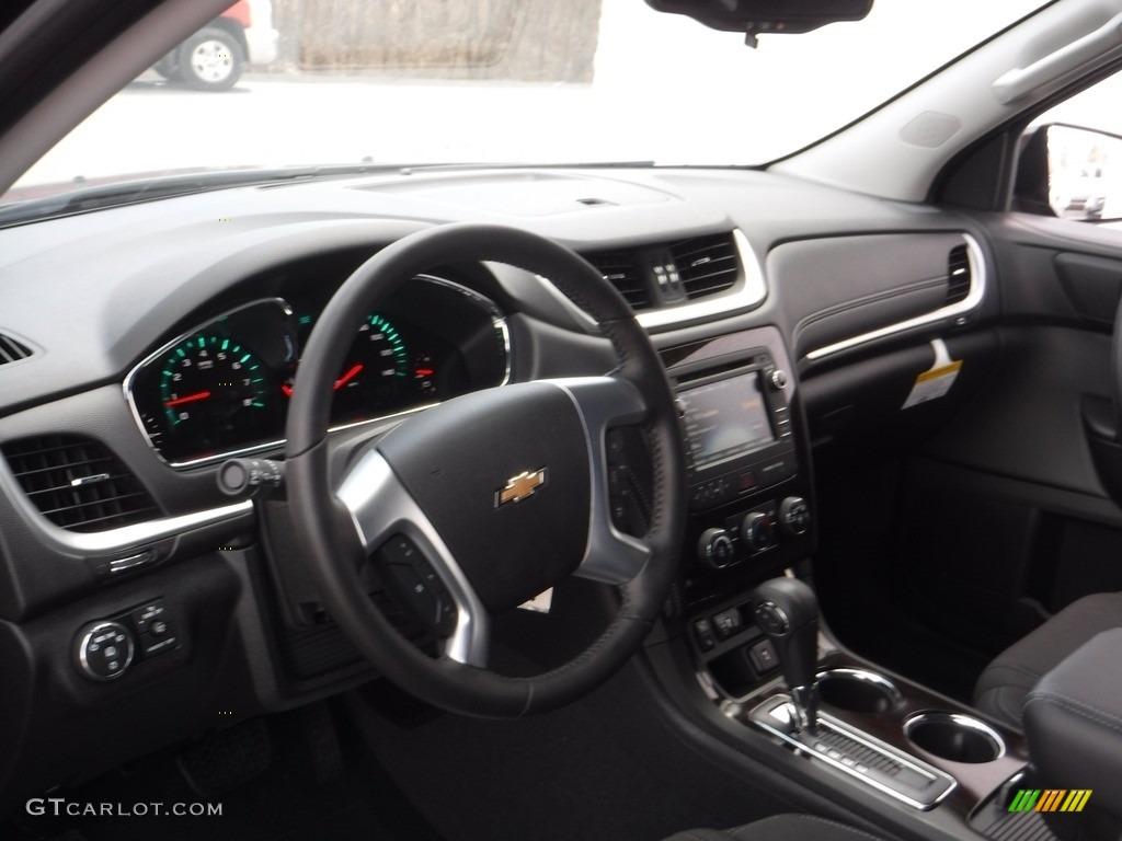 2016 Mosaic Black Metallic Chevrolet Traverse Lt Awd 111567583 Photo 10 Car