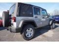 2016 Billet Silver Metallic Jeep Wrangler Unlimited Sport 4x4  photo #3