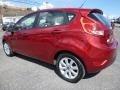 2013 Ruby Red Ford Fiesta SE Hatchback  photo #4