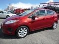 2013 Ruby Red Ford Fiesta SE Hatchback  photo #5