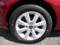 2013 Ruby Red Ford Fiesta SE Hatchback  photo #6