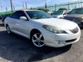 Arctic Frost Pearl 2004 Toyota Solara SLE V6 Convertible