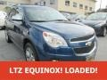 2010 Navy Blue Metallic Chevrolet Equinox LTZ AWD  photo #1