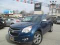 2010 Navy Blue Metallic Chevrolet Equinox LTZ AWD  photo #6