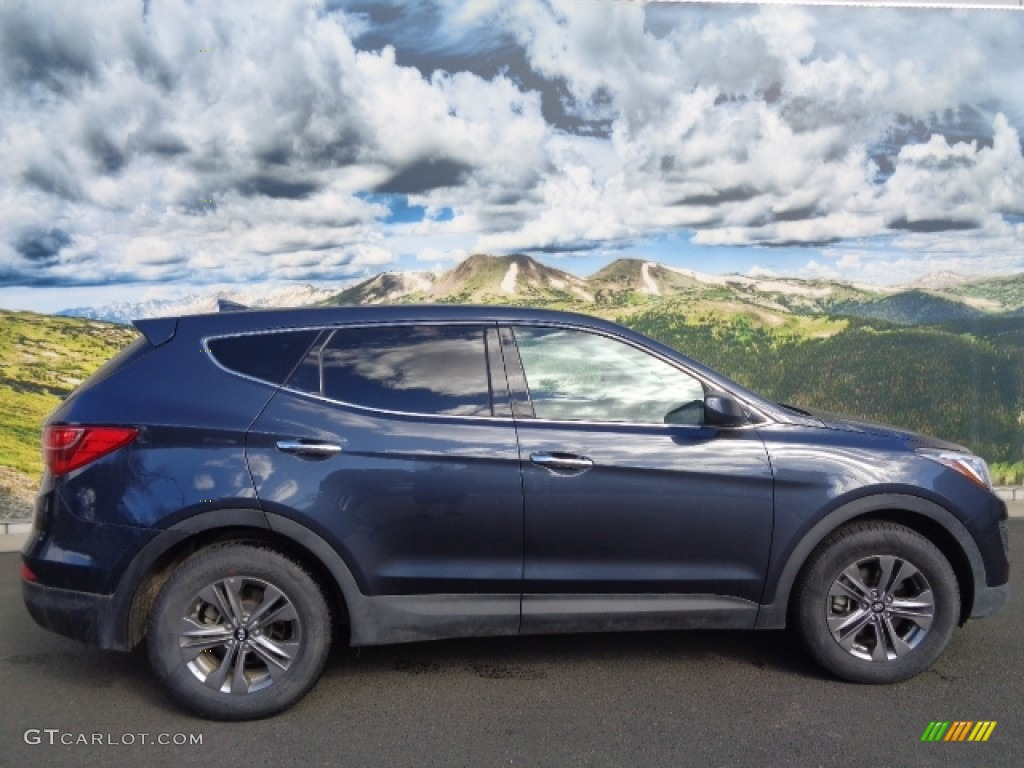 2016 Marlin Blue Hyundai Santa Fe Sport Awd 111597441