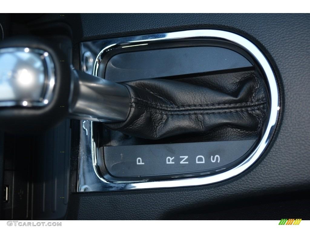 2016 Mustang V6 Coupe - Deep Impact Blue Metallic / Ebony photo #13