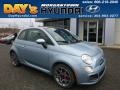 Luce Blu (Light Blue) 2013 Fiat 500 Sport