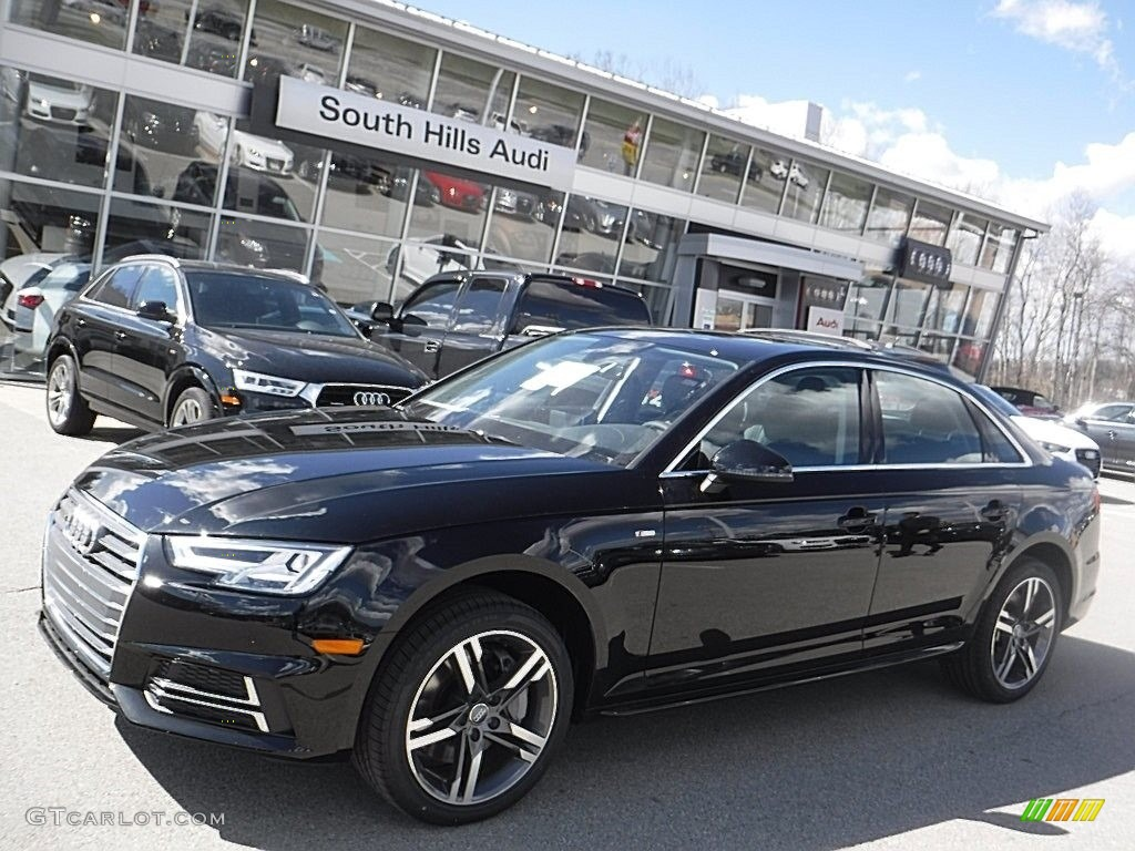 2017 mythos black metallic audi a4 2 0t premium plus quattro 111631774 car. Black Bedroom Furniture Sets. Home Design Ideas