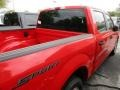 2016 Race Red Ford F150 XL SuperCrew  photo #9