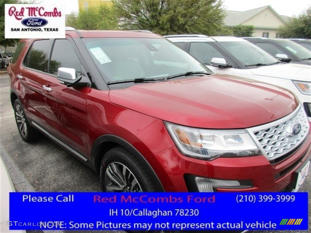 Ruby Red Metallic Tri-Coat Ford Explorer