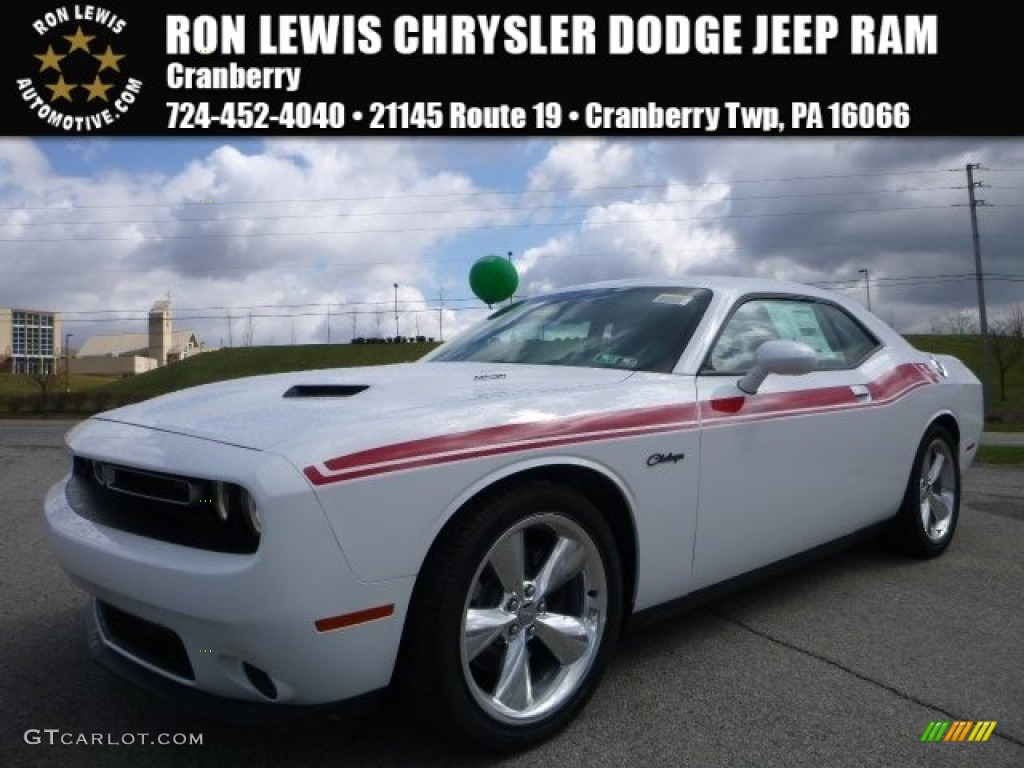 2016 Bright White Dodge Challenger R T 111687139 Car Color Galleries