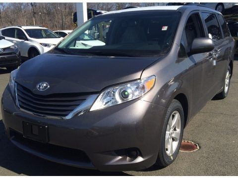 2016 Toyota Sienna Le Awd Data Info And Specs