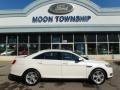 White Platinum Tri-Coat 2013 Ford Taurus SEL