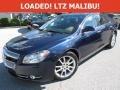 Imperial Blue Metallic 2009 Chevrolet Malibu LTZ Sedan