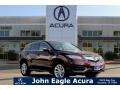 Basque Red Pearl II 2016 Acura RDX Technology