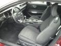 Ebony Front Seat Photo for 2015 Ford Mustang #111741676