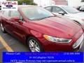 2016 Ruby Red Metallic Ford Fusion SE #111738144