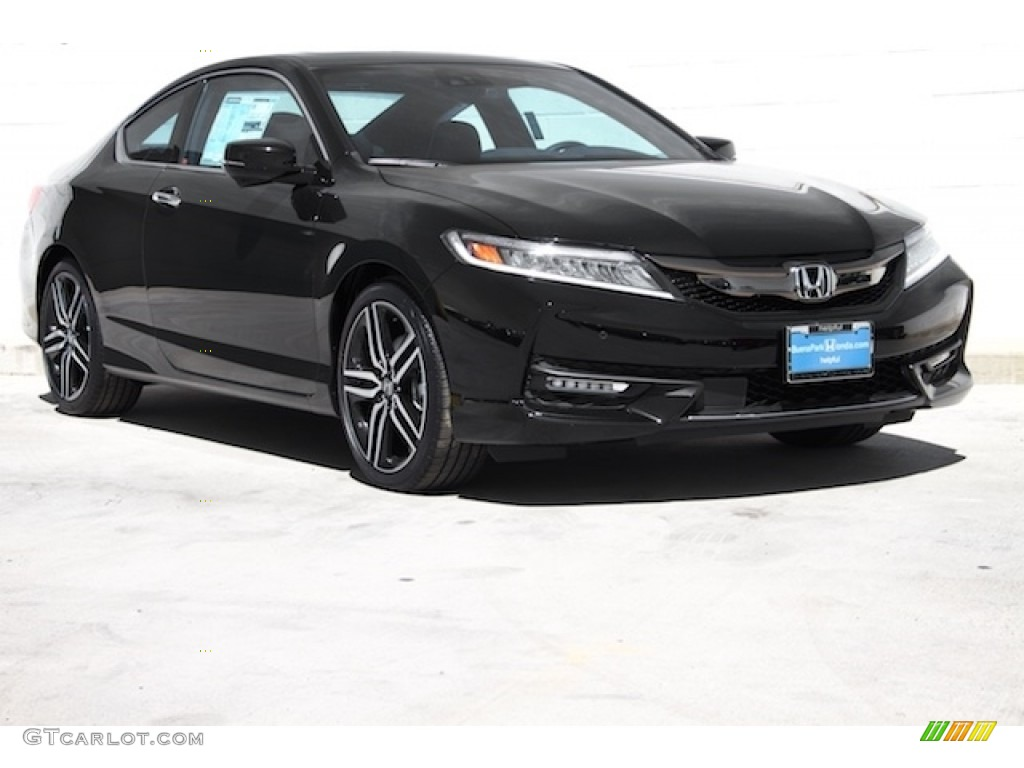 2016 crystal black pearl honda accord touring coupe 111738263 car color galleries. Black Bedroom Furniture Sets. Home Design Ideas