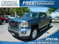 2015 Stealth Gray Metallic GMC Sierra 2500HD SLE Crew Cab 4x4 #111770988