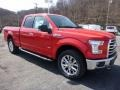 2016 Race Red Ford F150 XLT SuperCab 4x4  photo #9