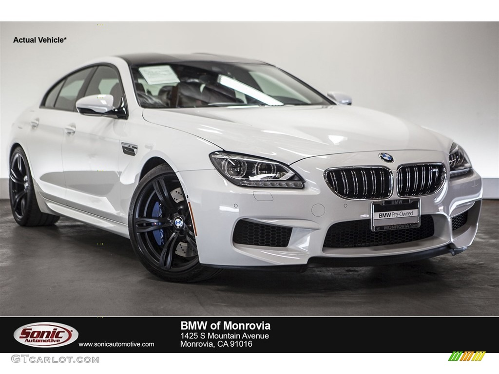 2015 alpine white bmw m6 gran coupe 111844718 car color galleries. Black Bedroom Furniture Sets. Home Design Ideas