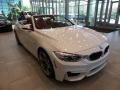 Mineral White Metallic 2016 BMW M4 Convertible