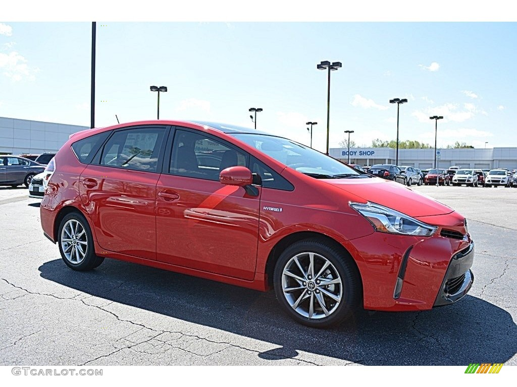 2016 absolutely red toyota prius v five 111864368 photo 23 car color galleries. Black Bedroom Furniture Sets. Home Design Ideas