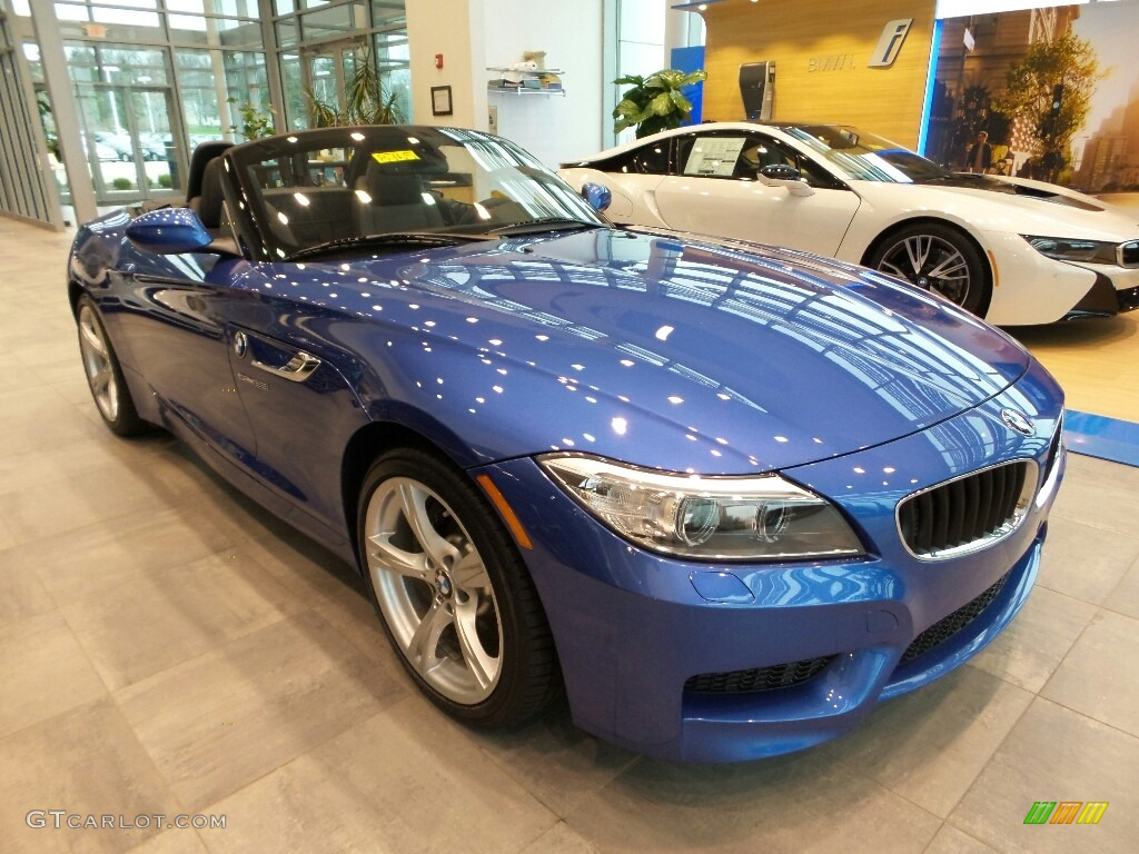 2016 BMW Z4 Sdrive28I >> 2016 Estoril Blue Metallic BMW Z4 sDrive28i #111864571 Photo #4 | GTCarLot.com - Car Color Galleries