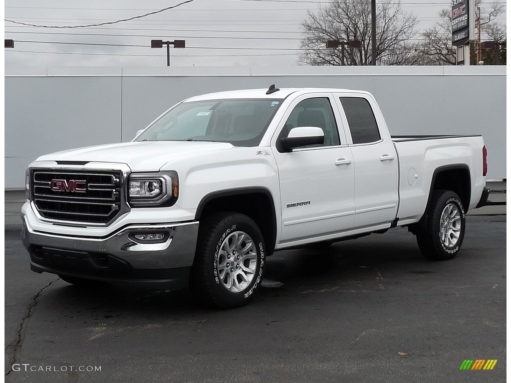 2016 Summit White GMC Sierra 1500 SLE Double Cab 4WD ...