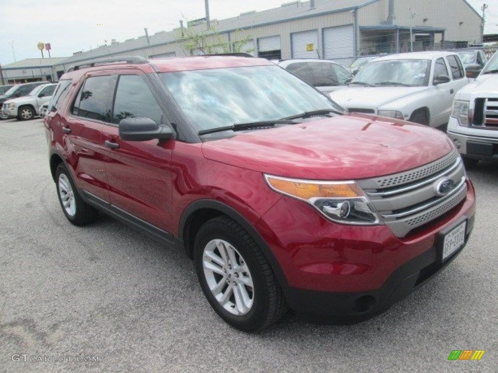 ruby red ford explorer fwd  photo  gtcarlotcom car color galleries