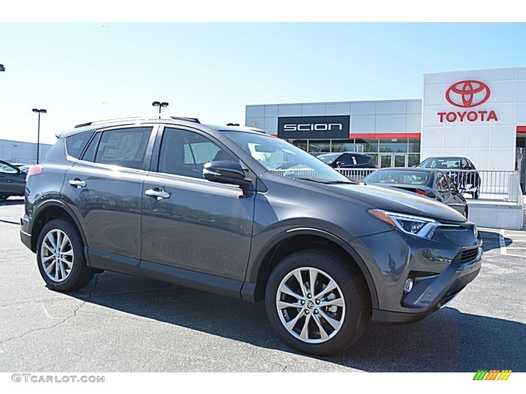 2016 Magnetic Gray Metallic Toyota Rav4 Limited 111891491