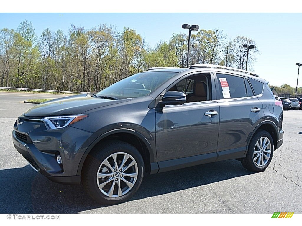 2016 magnetic gray metallic toyota rav4 limited 111891491 photo 3 car color. Black Bedroom Furniture Sets. Home Design Ideas