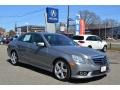 Palladium Silver Metallic 2010 Mercedes-Benz E 350 4Matic Sedan