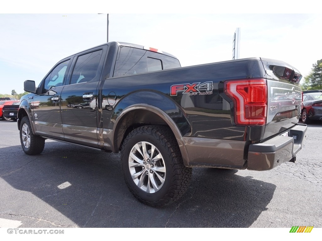ranch king f150 4x4 ford supercrew shadow platinum brunello gtcarlot interior colors