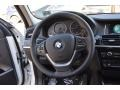 Black Steering Wheel Photo for 2016 BMW X3 #111914094