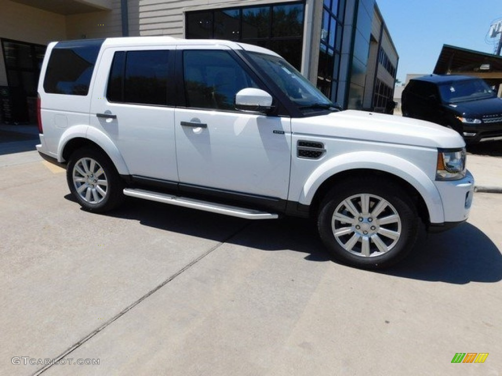 Fuji White Land Rover LR4