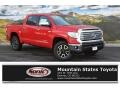 2016 Radiant Red Toyota Tundra Limited CrewMax 4x4  photo #1